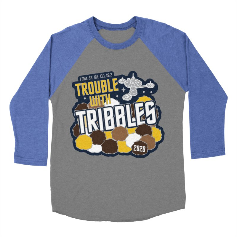 Trouble with Tribbles Men's Baseball Triblend Longsleeve T-Shirt by Moon Joggers's Artist Shop