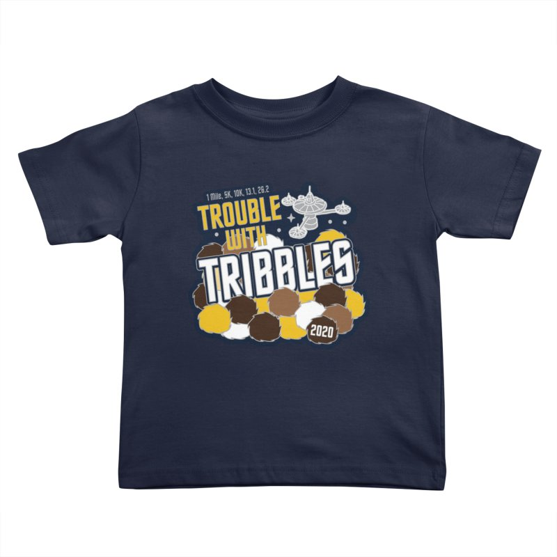 Trouble with Tribbles Kids Toddler T-Shirt by Moon Joggers's Artist Shop