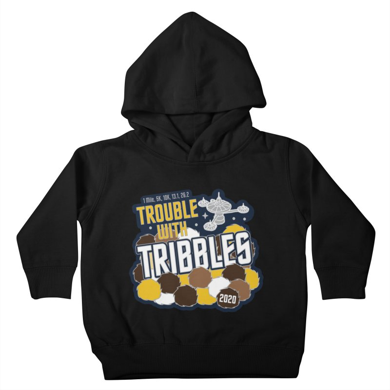 Trouble with Tribbles Kids Toddler Pullover Hoody by Moon Joggers's Artist Shop