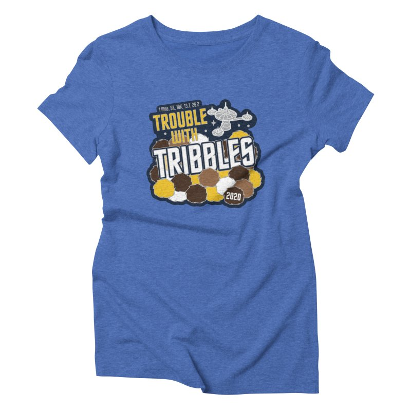 Trouble with Tribbles Women's Triblend T-Shirt by Moon Joggers's Artist Shop