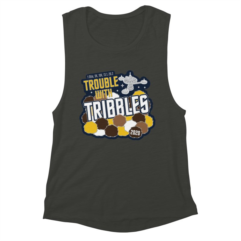 Trouble with Tribbles Women's Muscle Tank by Moon Joggers's Artist Shop