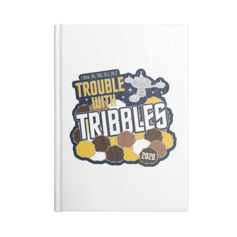 Trouble with Tribbles Accessories Blank Journal Notebook by Moon Joggers's Artist Shop
