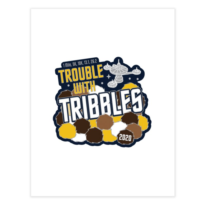 Trouble with Tribbles Home Fine Art Print by Moon Joggers's Artist Shop