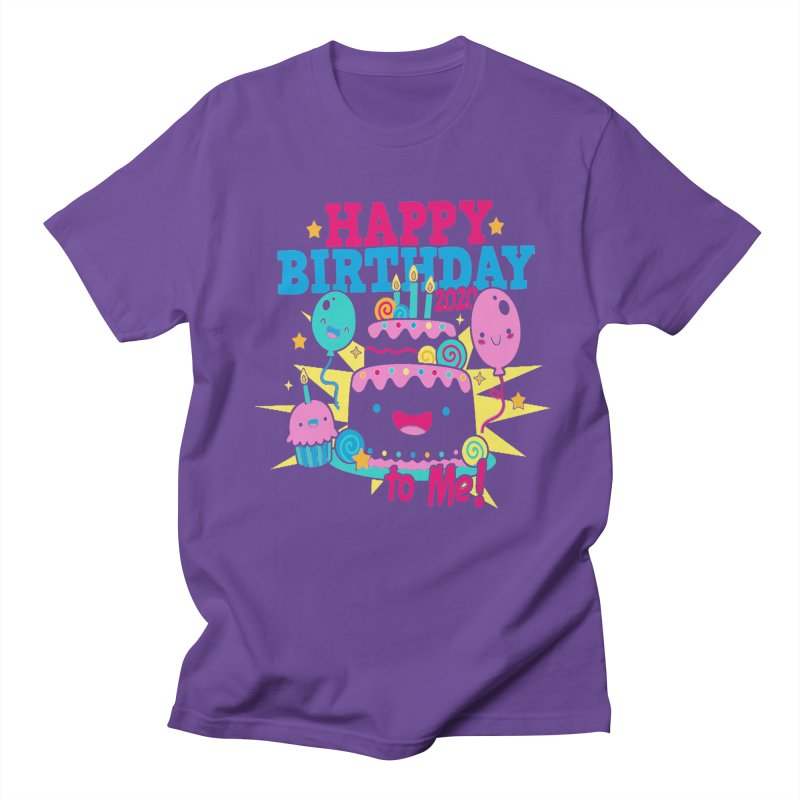Happy Birthday to Me Men's T-Shirt by Moon Joggers's Artist Shop