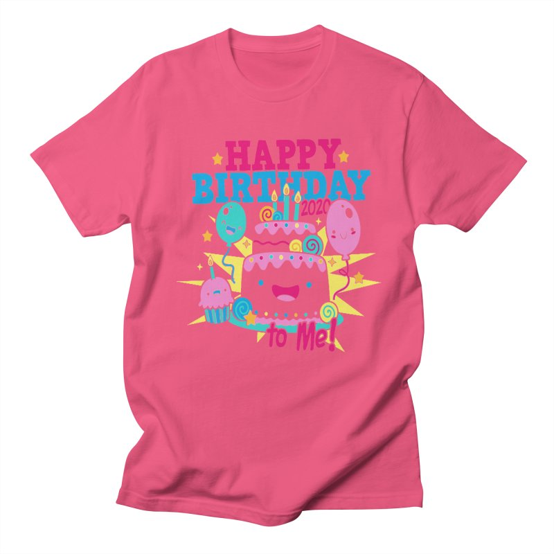 Happy Birthday to Me Men's Regular T-Shirt by Moon Joggers's Artist Shop