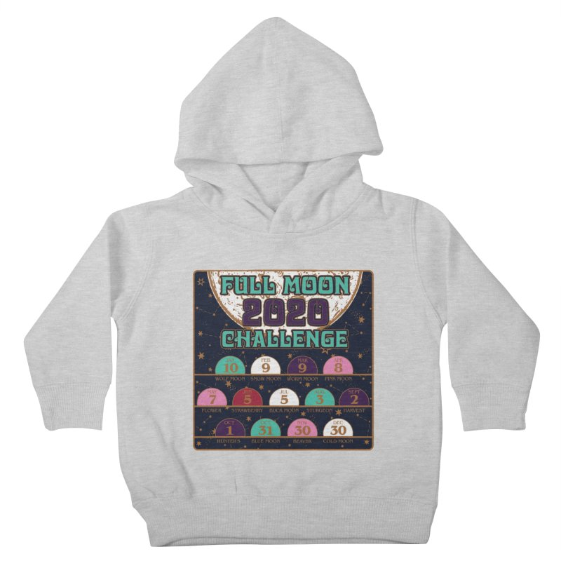 Full Moon Challenge 2020 Kids Toddler Pullover Hoody by Moon Joggers's Artist Shop