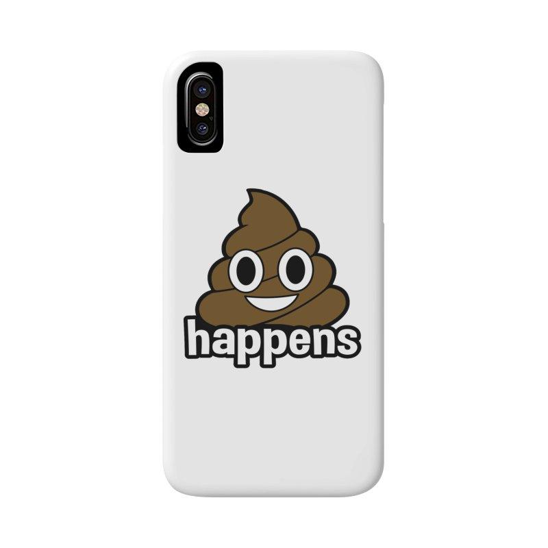 Poop Happens Accessories Phone Case by Moon Joggers's Artist Shop