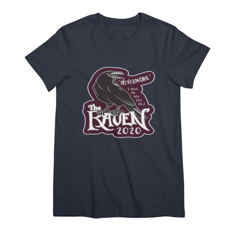 The Raven Women's Premium T-Shirt by Moon Joggers's Artist Shop