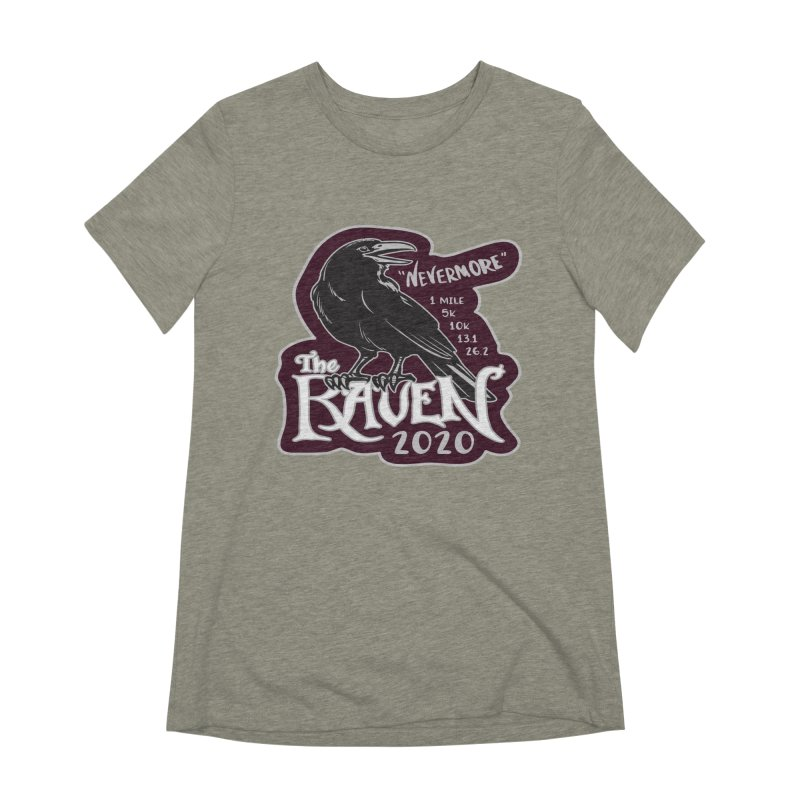 The Raven Women's Extra Soft T-Shirt by Moon Joggers's Artist Shop