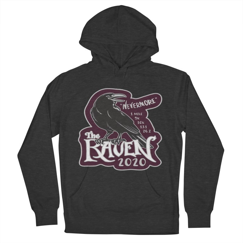 The Raven Men's French Terry Pullover Hoody by Moon Joggers's Artist Shop