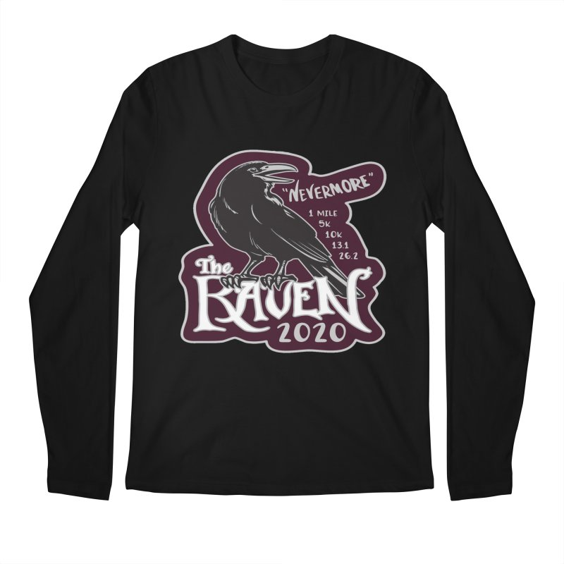 The Raven Men's Regular Longsleeve T-Shirt by Moon Joggers's Artist Shop
