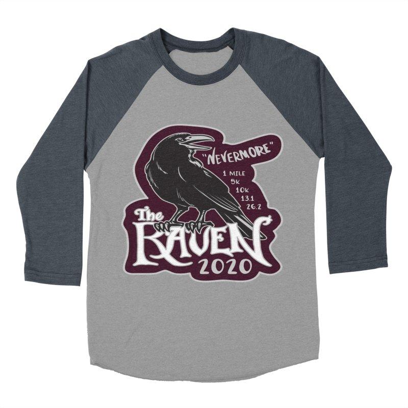 The Raven Women's Baseball Triblend Longsleeve T-Shirt by Moon Joggers's Artist Shop
