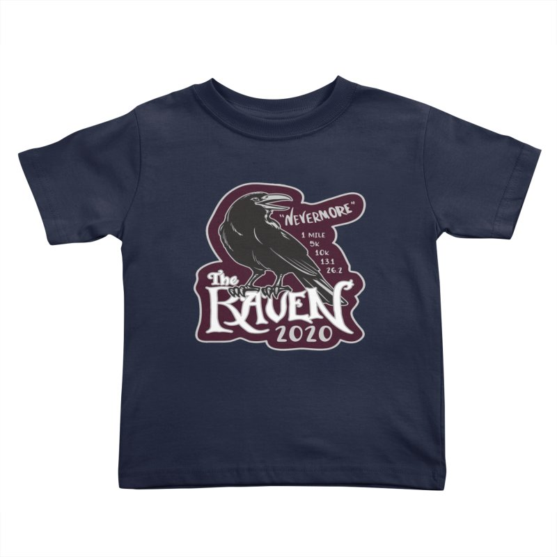 The Raven Kids Toddler T-Shirt by Moon Joggers's Artist Shop
