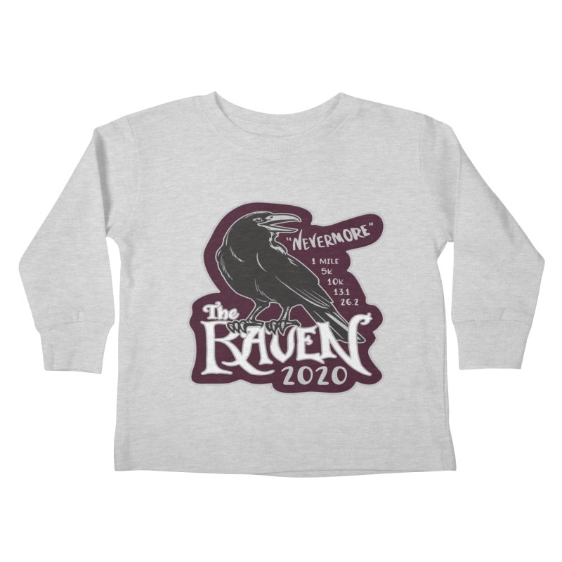 The Raven Kids Toddler Longsleeve T-Shirt by Moon Joggers's Artist Shop