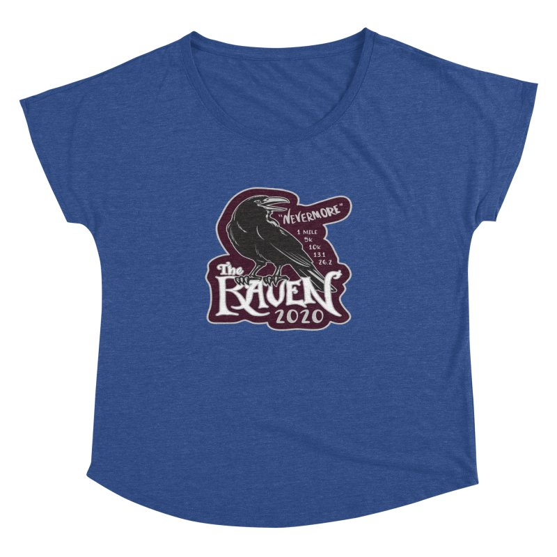 The Raven Women's Dolman Scoop Neck by Moon Joggers's Artist Shop