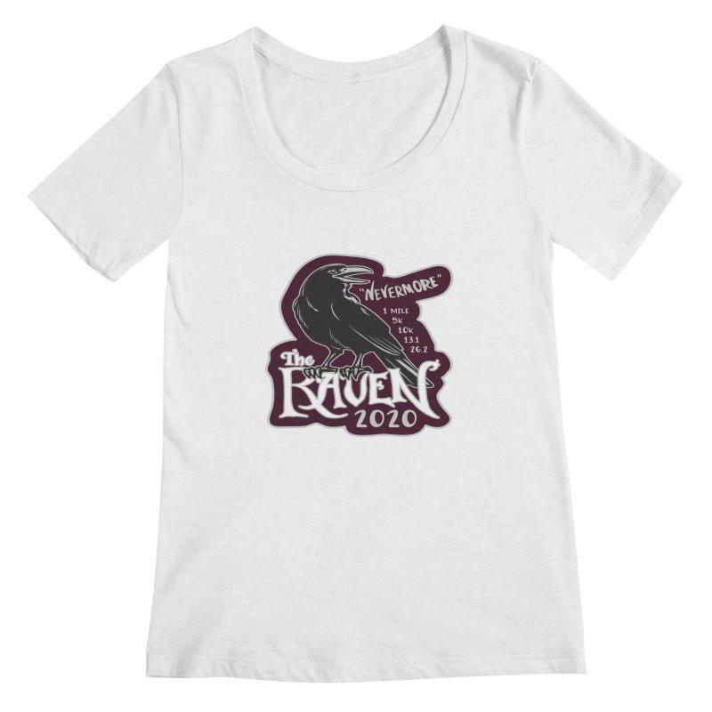 The Raven Women's Regular Scoop Neck by Moon Joggers's Artist Shop
