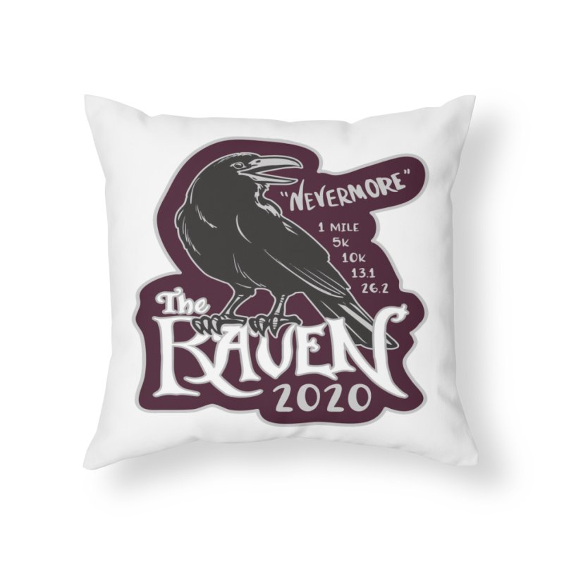 The Raven Home Throw Pillow by Moon Joggers's Artist Shop
