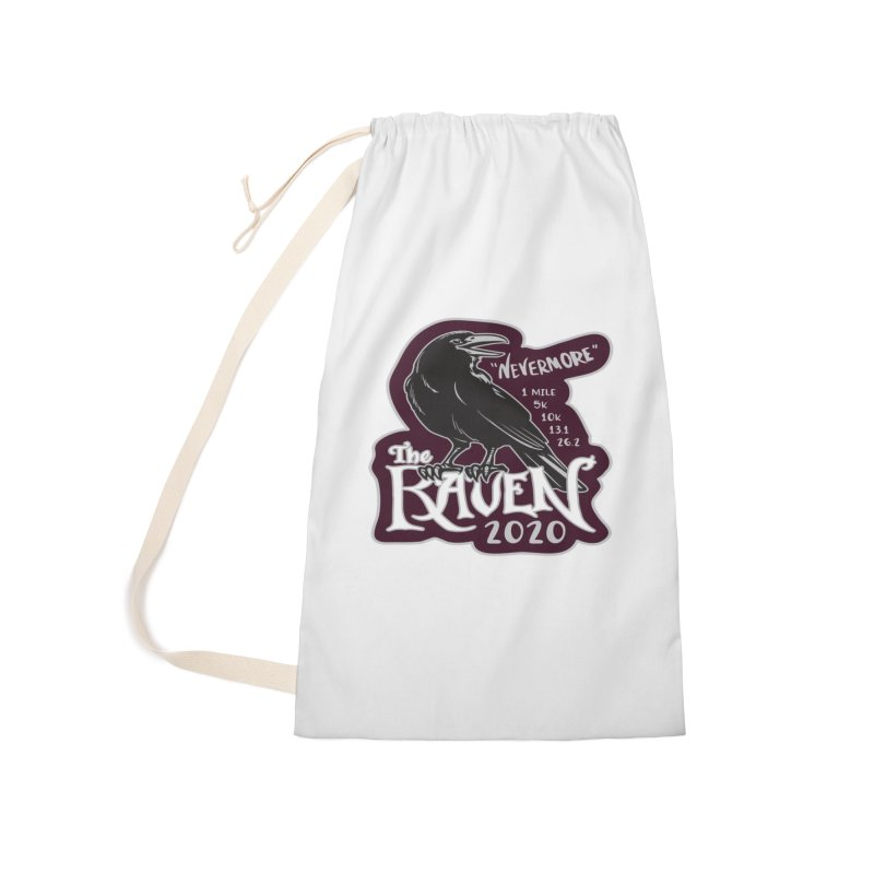 The Raven Accessories Laundry Bag Bag by Moon Joggers's Artist Shop