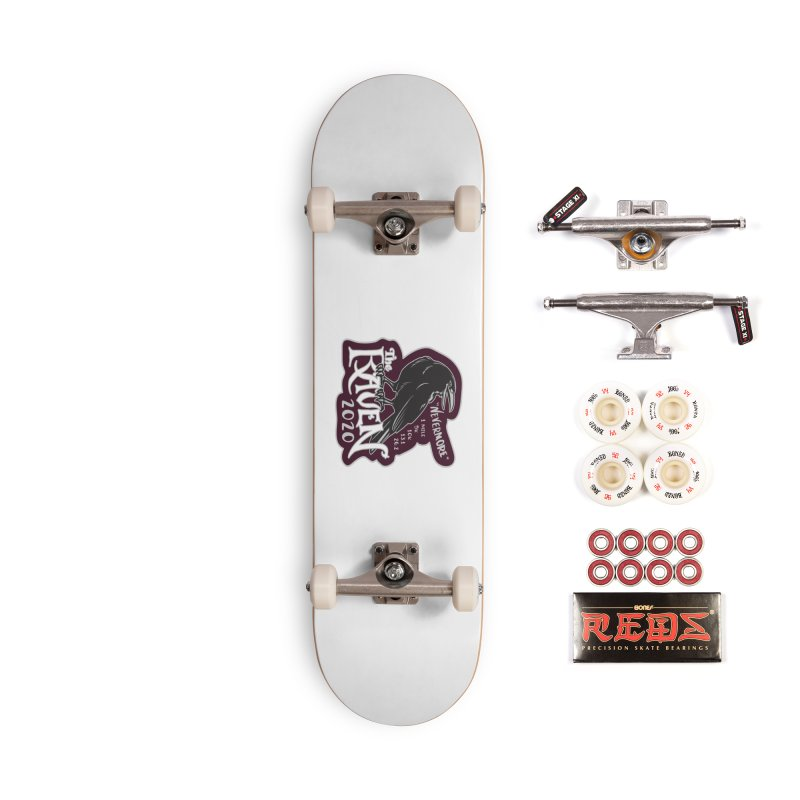 The Raven Accessories Complete - Pro Skateboard by Moon Joggers's Artist Shop