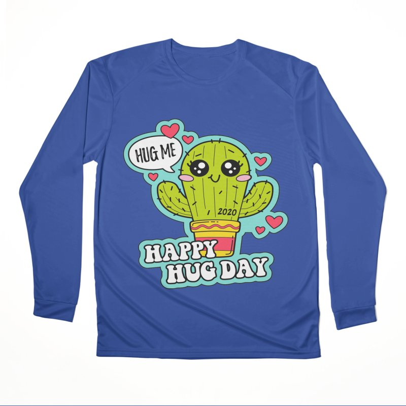 Happy Hug Day Men's Performance Longsleeve T-Shirt by Moon Joggers's Artist Shop