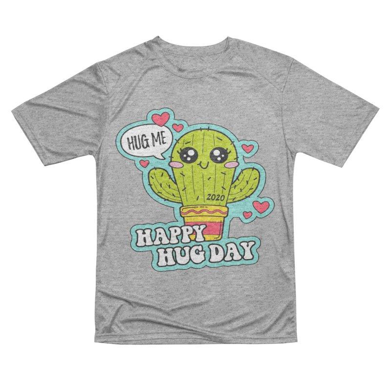 Happy Hug Day Men's Performance T-Shirt by Moon Joggers's Artist Shop