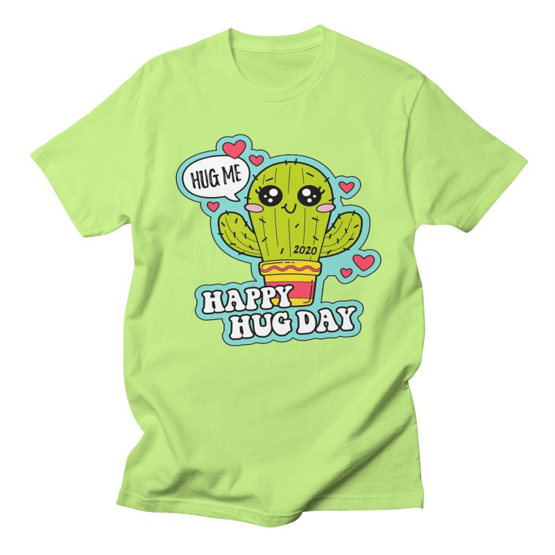 Happy Hug Day Men's Regular T-Shirt by Moon Joggers's Artist Shop