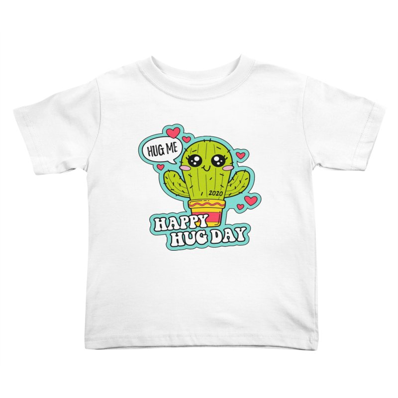 Happy Hug Day Kids Toddler T-Shirt by Moon Joggers's Artist Shop