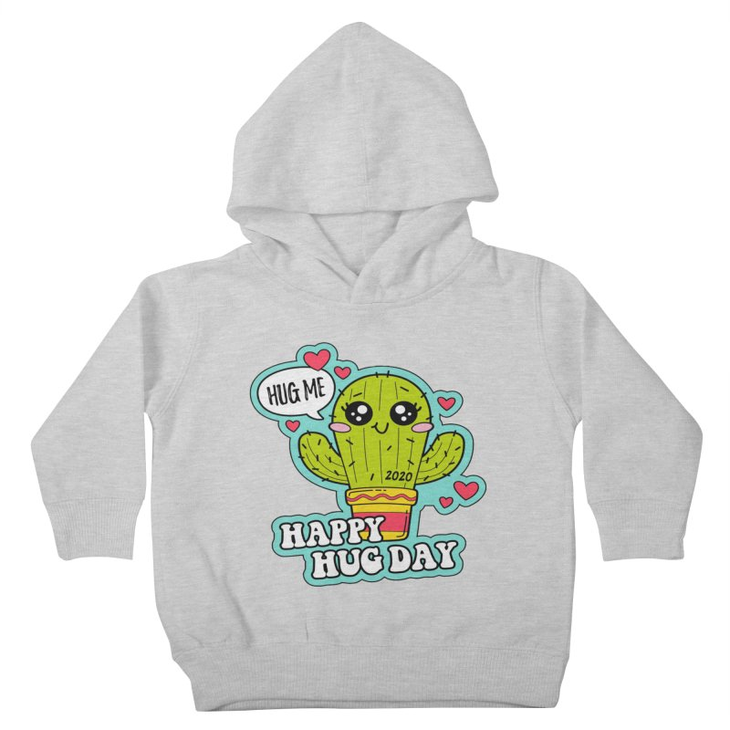 Happy Hug Day Kids Toddler Pullover Hoody by Moon Joggers's Artist Shop