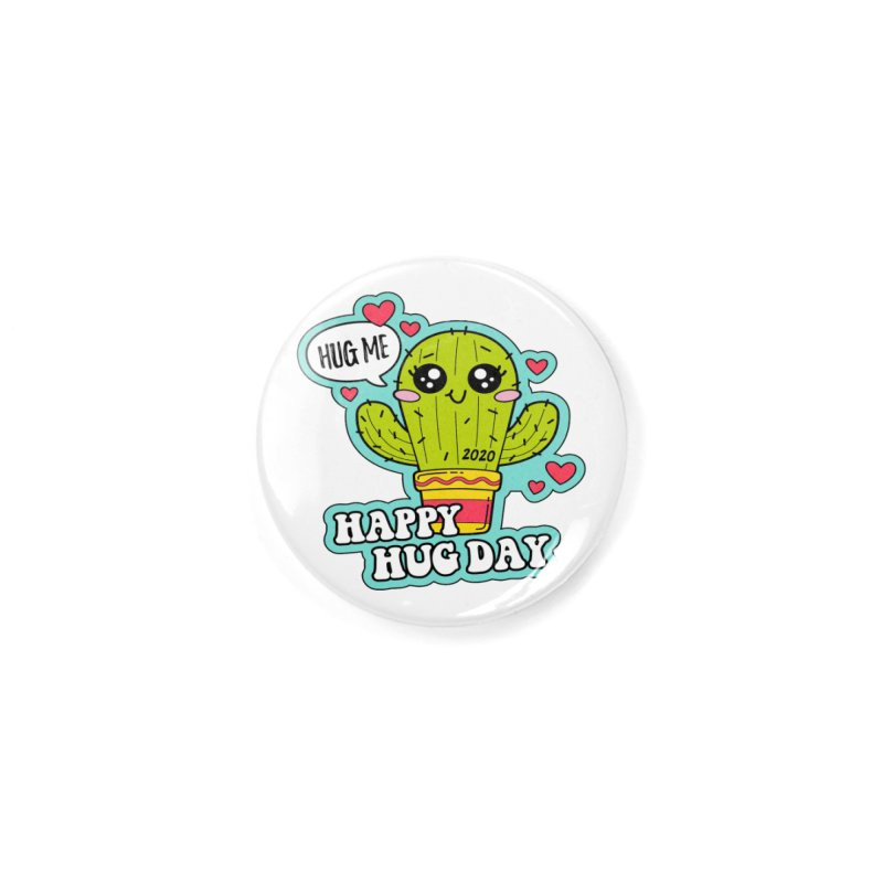 Happy Hug Day Accessories Button by Moon Joggers's Artist Shop