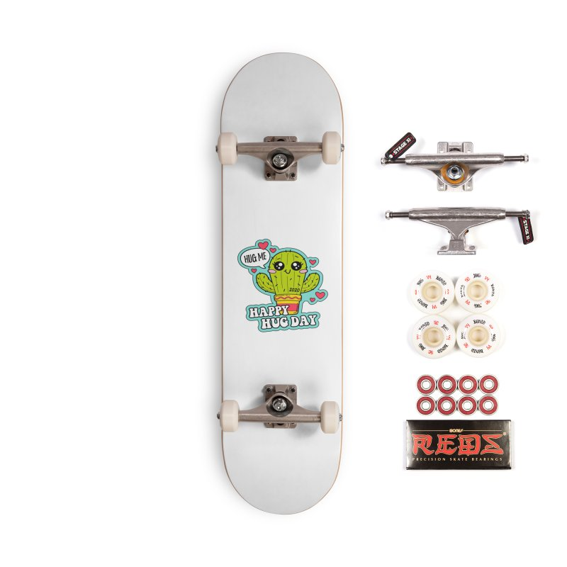 Happy Hug Day Accessories Complete - Pro Skateboard by Moon Joggers's Artist Shop