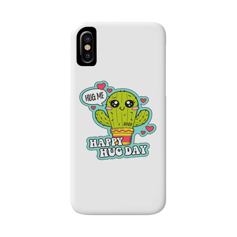 Happy Hug Day Accessories Phone Case by Moon Joggers's Artist Shop