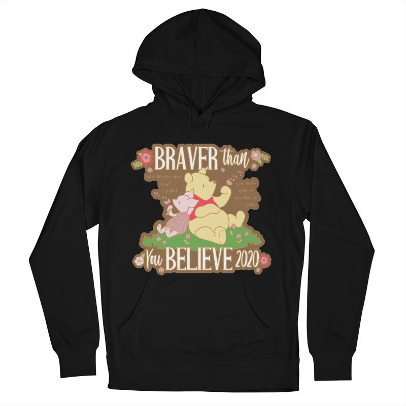 Braver Than You Believe 2020 Men's French Terry Pullover Hoody by Moon Joggers's Artist Shop