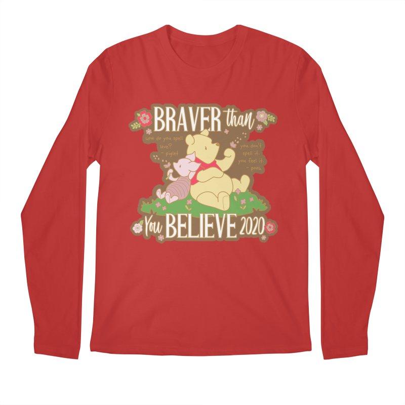 Braver Than You Believe 2020 Men's Regular Longsleeve T-Shirt by Moon Joggers's Artist Shop