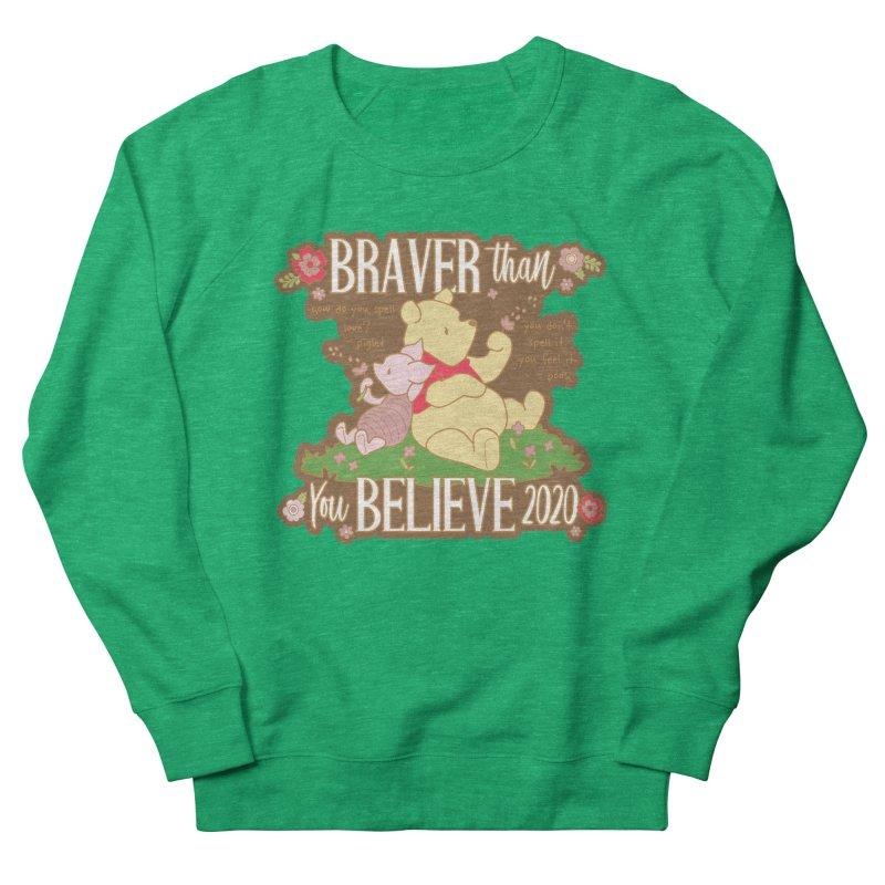 Braver Than You Believe 2020 Men's Sweatshirt by Moon Joggers's Artist Shop