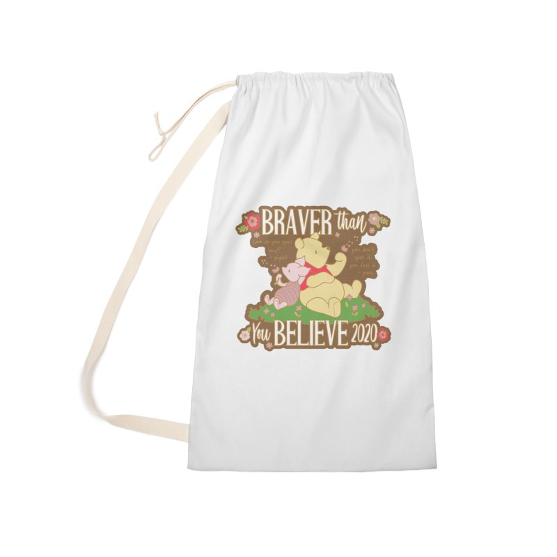Braver Than You Believe 2020 Accessories Laundry Bag Bag by Moon Joggers's Artist Shop