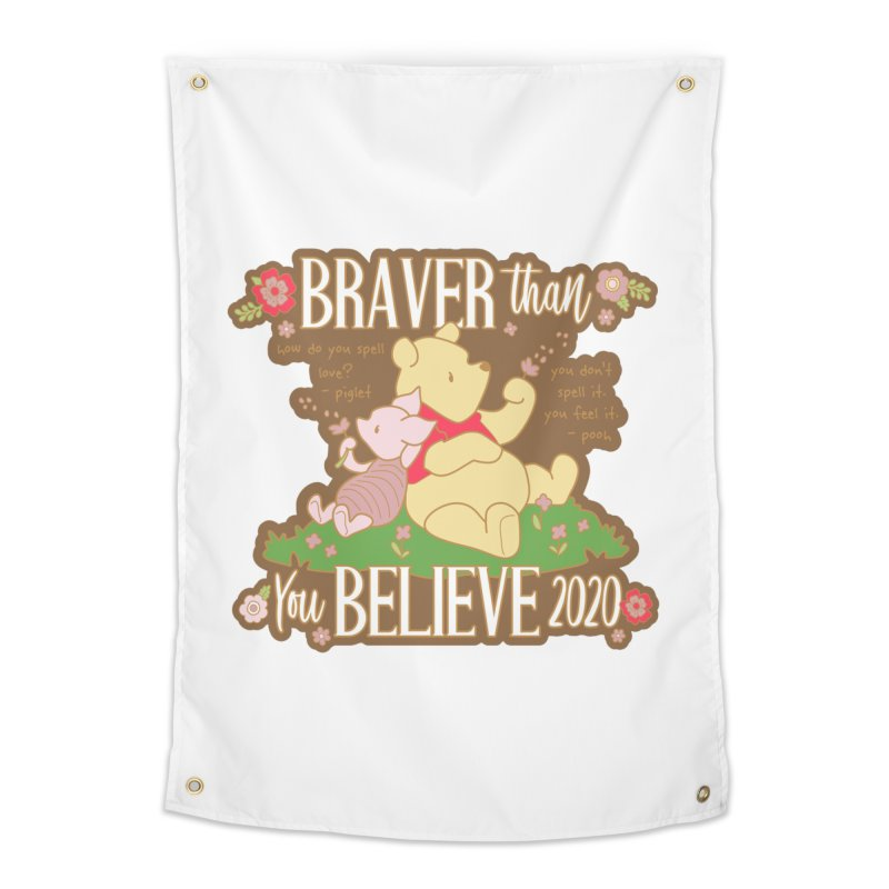 Braver Than You Believe 2020 Home Tapestry by Moon Joggers's Artist Shop