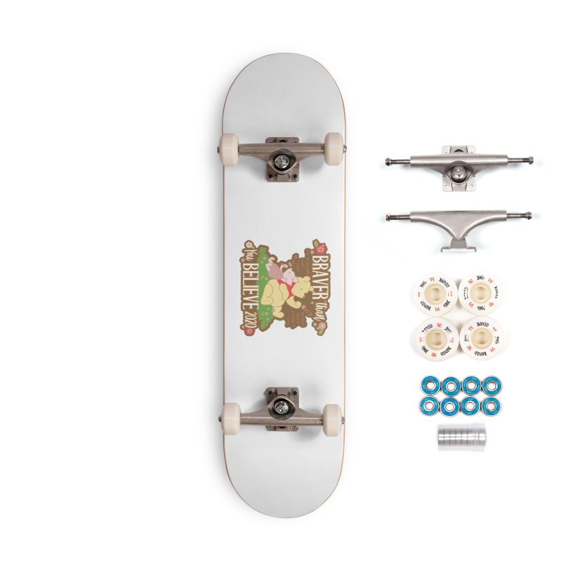 Braver Than You Believe 2020 Accessories Complete - Premium Skateboard by Moon Joggers's Artist Shop
