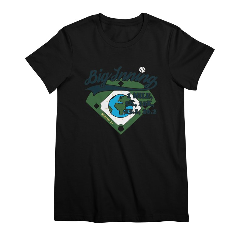 In the Big Inning Women's Premium T-Shirt by Moon Joggers's Artist Shop