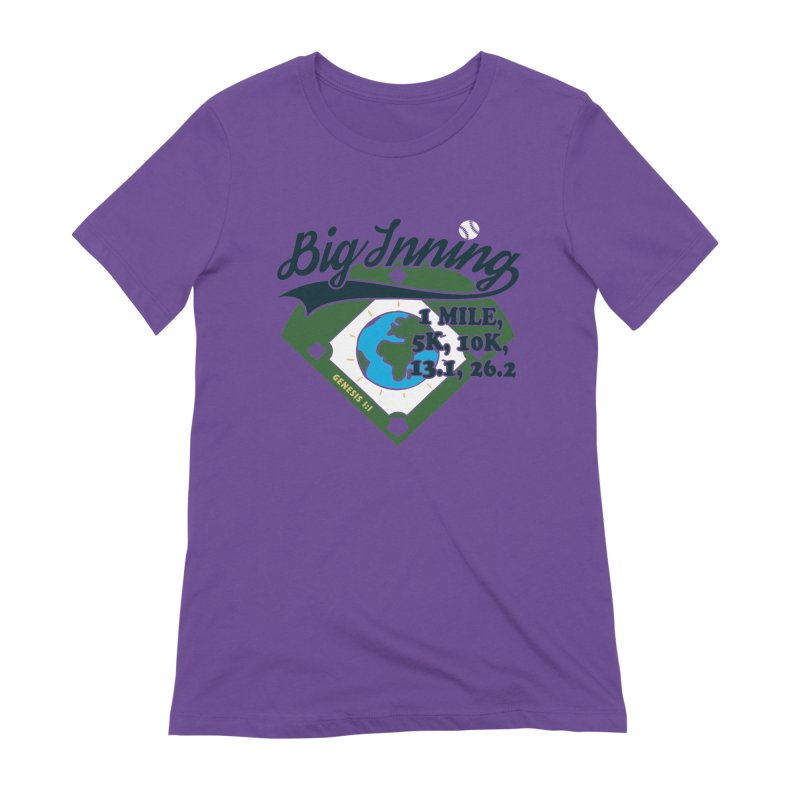 In the Big Inning Women's Extra Soft T-Shirt by Moon Joggers's Artist Shop