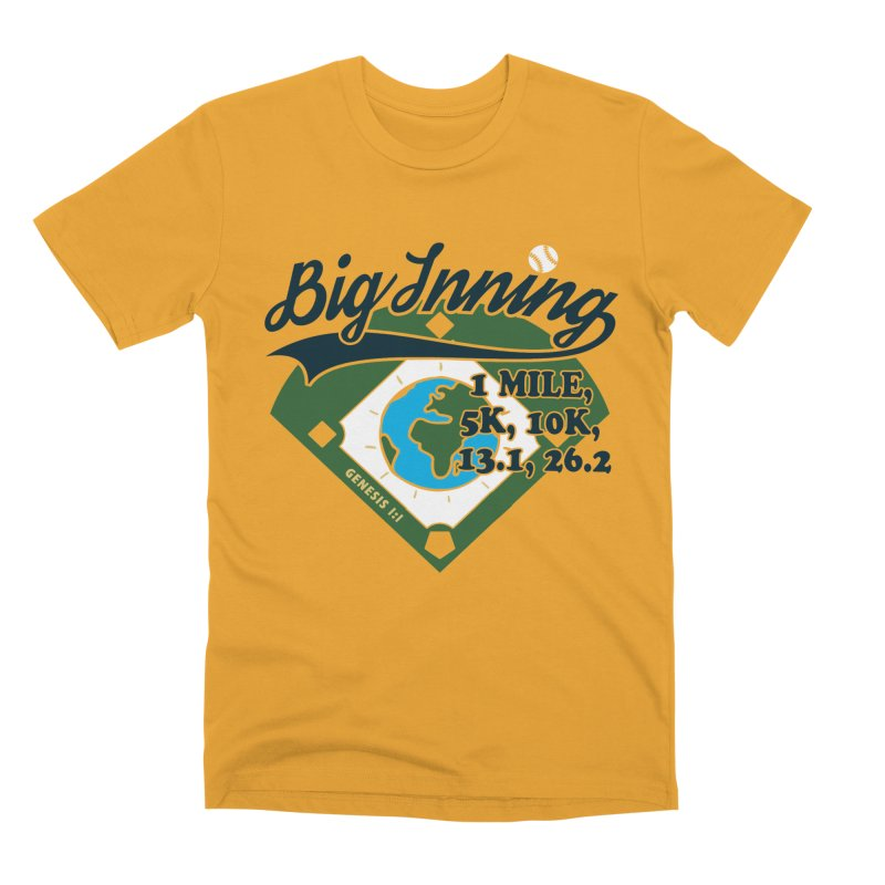 In the Big Inning Men's Premium T-Shirt by Moon Joggers's Artist Shop
