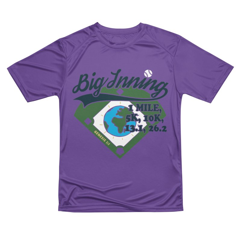 In the Big Inning Women's Performance Unisex T-Shirt by Moon Joggers's Artist Shop