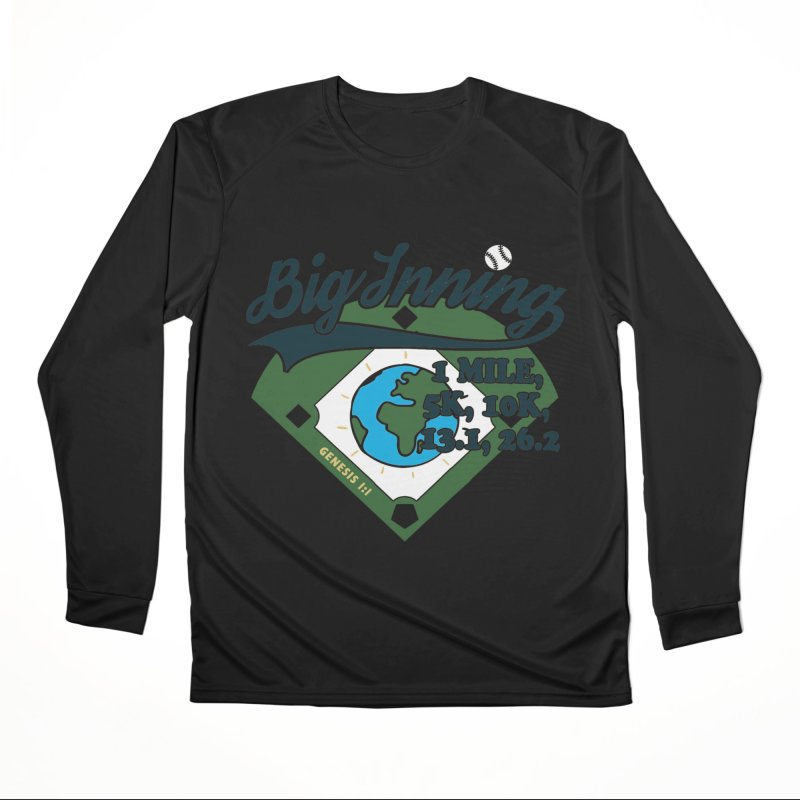 In the Big Inning Men's Performance Longsleeve T-Shirt by Moon Joggers's Artist Shop