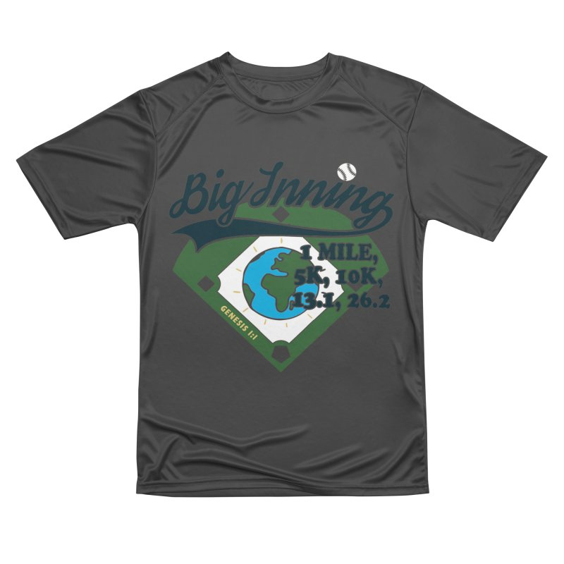 In the Big Inning Men's Performance T-Shirt by Moon Joggers's Artist Shop
