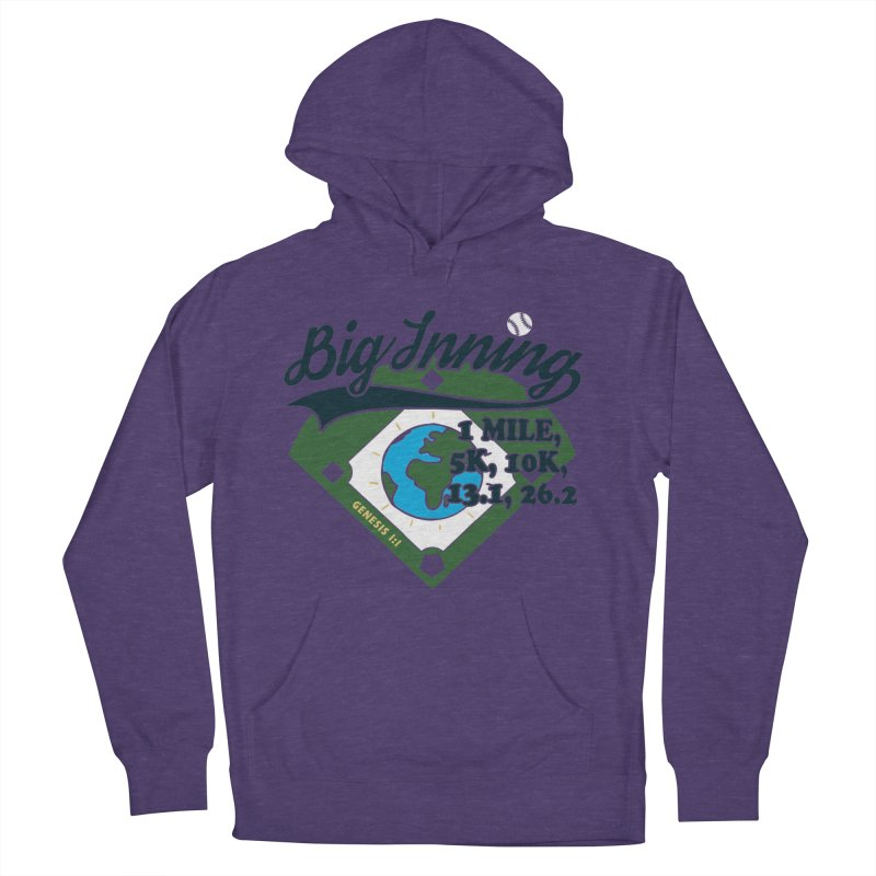 In the Big Inning Men's French Terry Pullover Hoody by Moon Joggers's Artist Shop