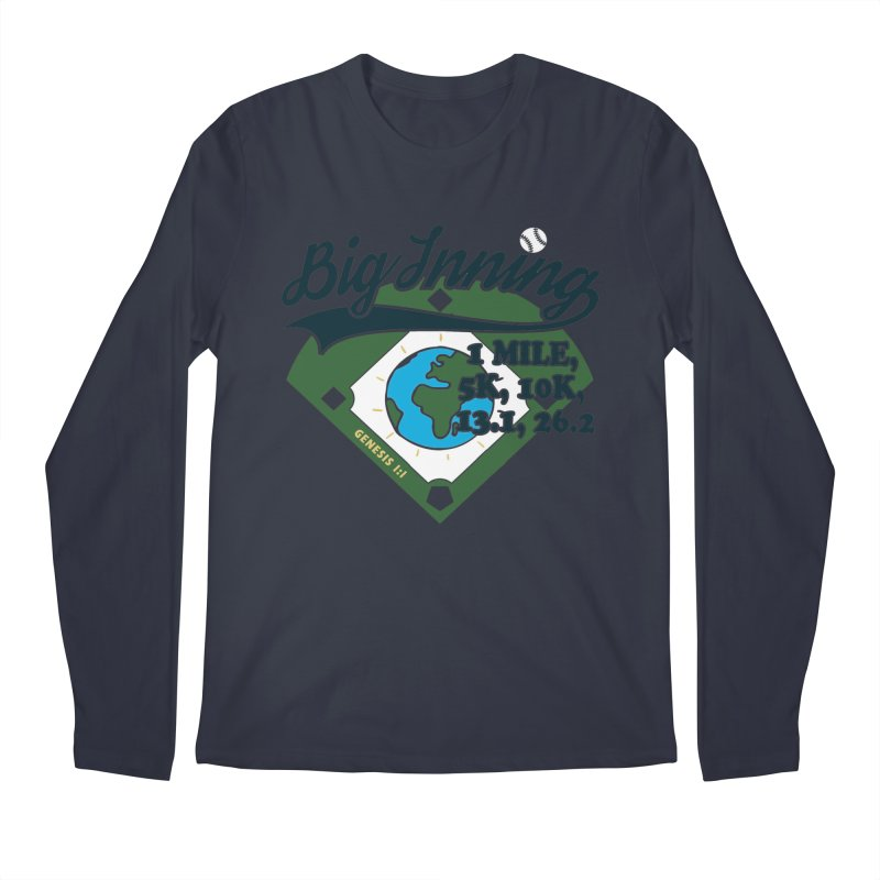 In the Big Inning Men's Regular Longsleeve T-Shirt by Moon Joggers's Artist Shop