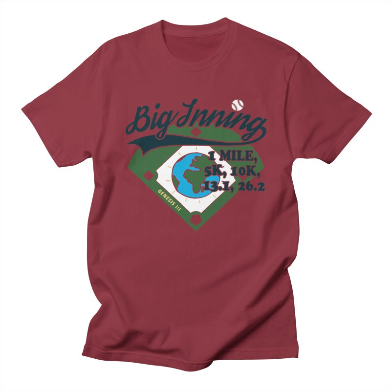 In the Big Inning Women's Regular Unisex T-Shirt by Moon Joggers's Artist Shop