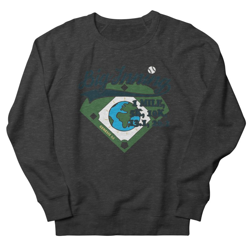 In the Big Inning Men's French Terry Sweatshirt by Moon Joggers's Artist Shop