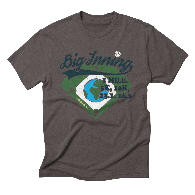 In the Big Inning Men's Triblend T-Shirt by Moon Joggers's Artist Shop