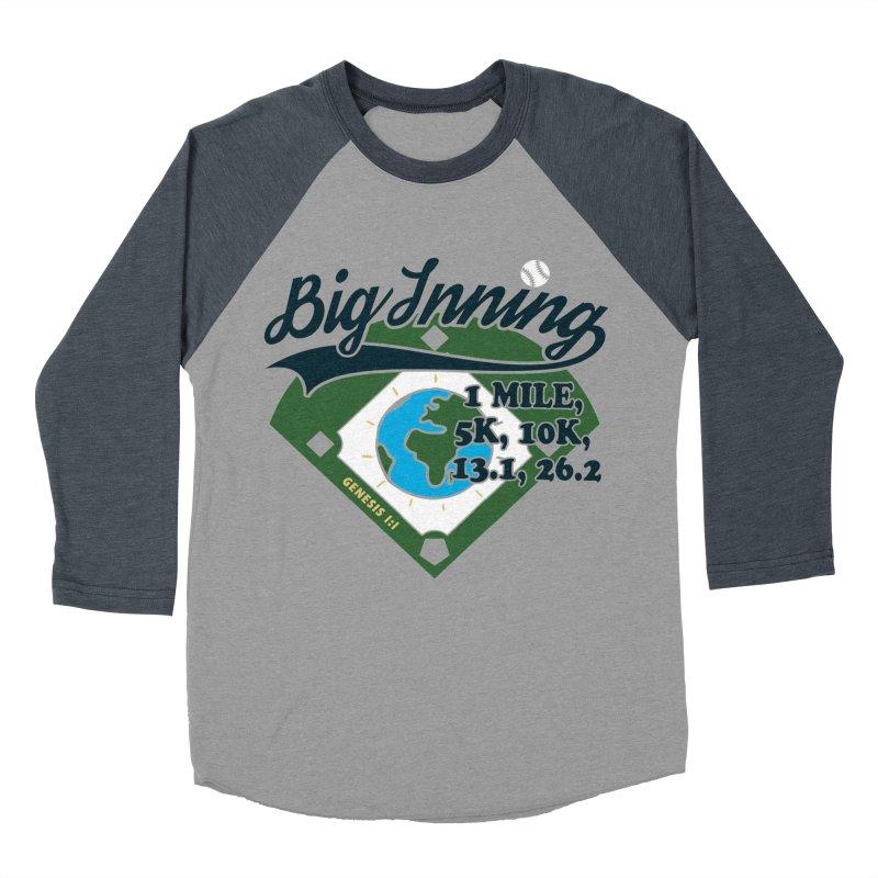 In the Big Inning Women's Baseball Triblend Longsleeve T-Shirt by Moon Joggers's Artist Shop