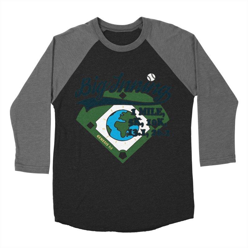 In the Big Inning Men's Baseball Triblend Longsleeve T-Shirt by Moon Joggers's Artist Shop